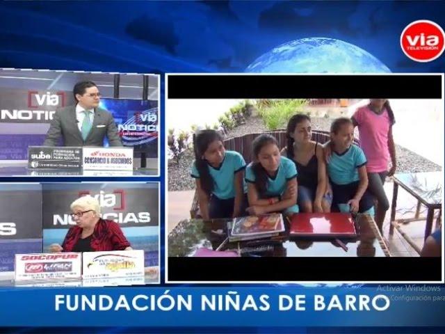 Entrevista a fundadora de «Fundación Niñas de Barro» en Sauce