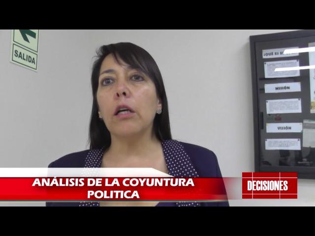 Análisis de la coyuntura política actual en nuestro país por Mónica Vecco