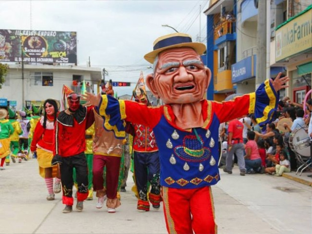 Fiesta del carnaval Riojano se desarrolla en todo su esplendor