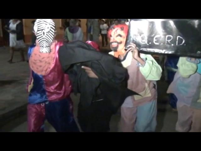 Entierro del Ño Carnavalón  en la ciudad de Lamas