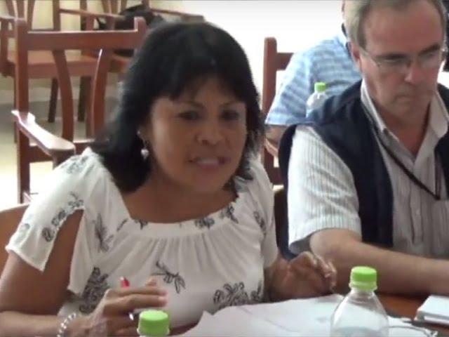 Congresista Esther Saavedra cuestiona deficiencias en hospital de contingencia