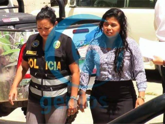 Amplían por seis días detención de secretaria general del GORESAM