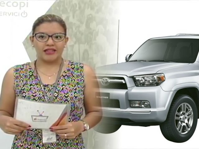 Indecopi: Alerta informativa de la Marca Toyota