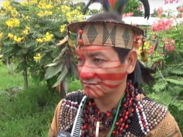 Nativos Ashaninkas participan de Foro Internacional Panamazónico 2017