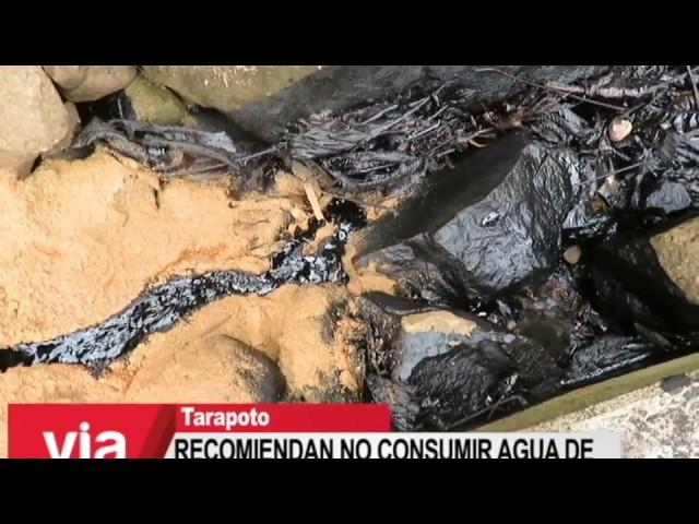Recomiendan no consumir agua de ríos y quebradas en zona de derrame de petróleo