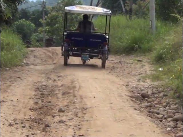 Vecinos de Villa Autónoma  solicitan mejoramiento de vía principal