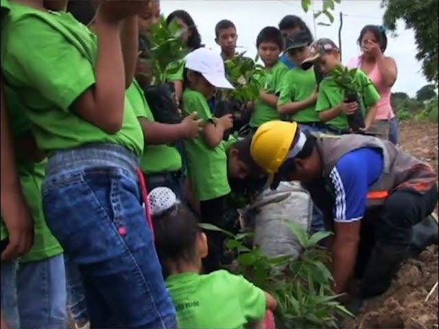 Alumnos de primaria celebran el día mundial del medio ambiente