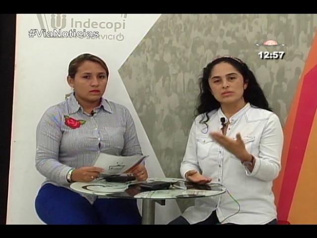 Entrevista a la Jefa de la Oficinal Regional del Indecopi en San Martín