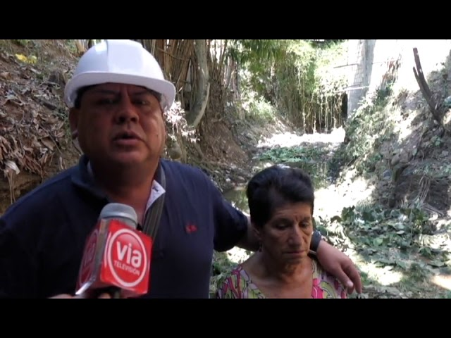 Construirán dos kilómetros de alcantarilla circular en quebrada Amorarca