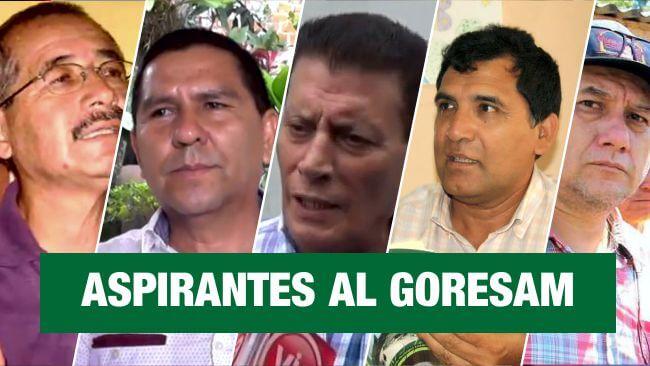 Estos son los políticos que pretenden ser gobernadores de la región San Martín
