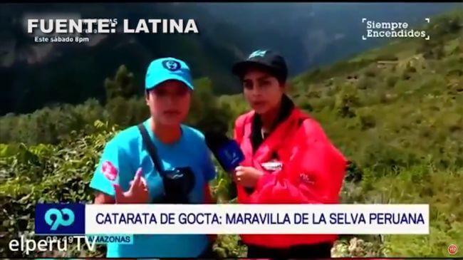 Catarata de Gocta: Maravilla de la selva peruana