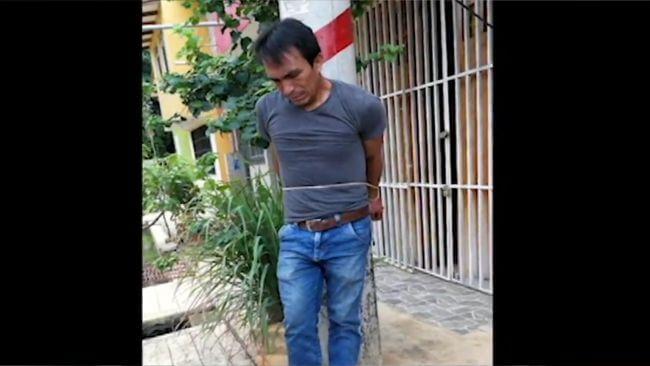Ciudadano colombiano intenta hacer justicia con sus propias manos