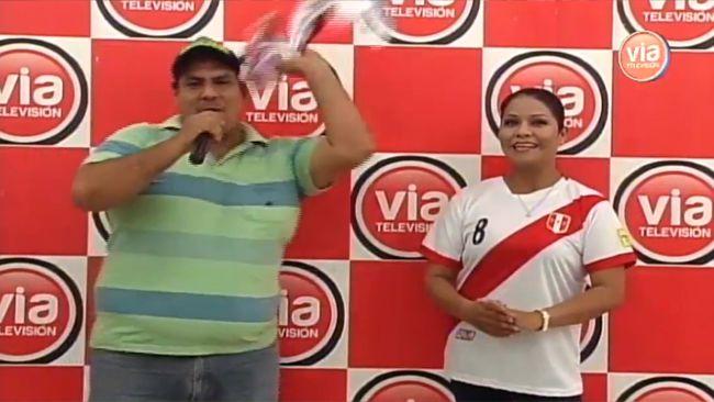 VIA Televisión premió a televidentes que participaron en la «Pregunta del día»