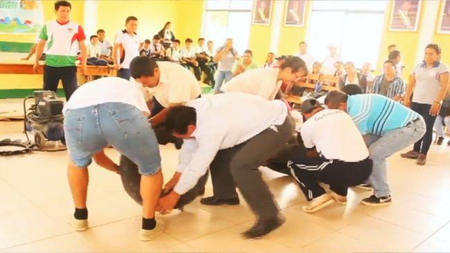 Capacitan en temas medioambientales a alumnos de Barranquita