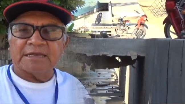Vecinos de jirón Sinchi Roca preocupados por paralización de obra