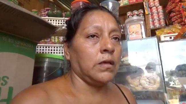 Mujer fue quemada con aceite por mototaxista exige justicia