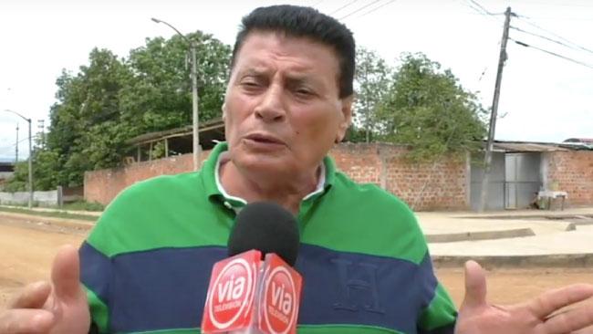 Reinician trabajos de asfaltado de jirón Los Pinos en Tarapoto