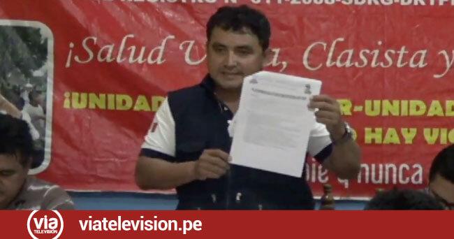 Sindicalistas del sector salud postergan huelga por coyuntura política