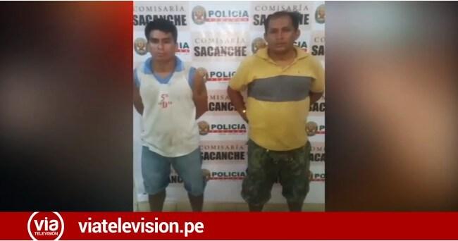 Sacanche: intervienen a dos pasajeros buscados por la justicia