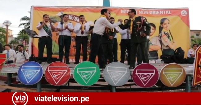 Niños y adolescentes adventistas participan en evento conquistador por un día