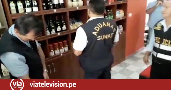 Incautan licores importados del extranjero sin registro sanitario