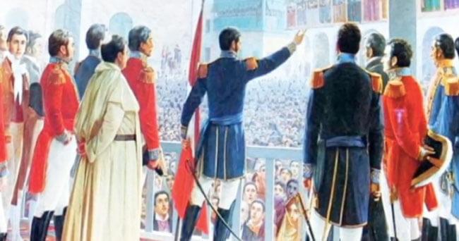 Encuesta: ¿Quién proclamó la independencia del Perú?