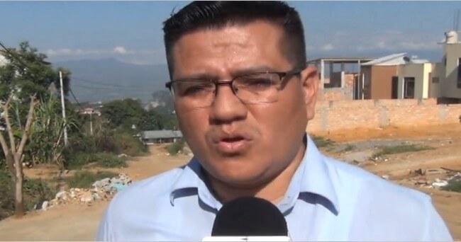 Paralizan obra del jirón  San Pedro en Tarapoto