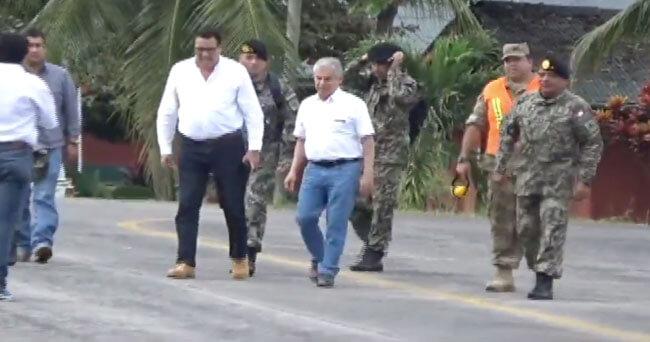 Presidente del Consejo de Ministro llega a San Martín para visitar bosque de protección