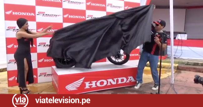 Honda selva del Perú lanza la nueva CB125 F modelo twister