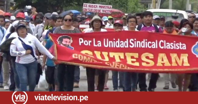 Cerca de 200 maestros vienen siendo procesados por acatar huelga