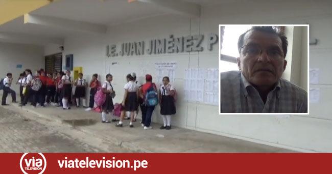 Exigen presencia policial y de serenos en exteriores del colegio Jiménez Pimentel