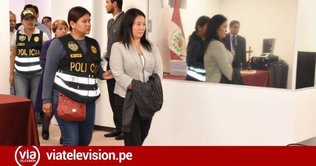 Pronunciamiento de Fuerza Popular  tras detención de Keiko Fujimori