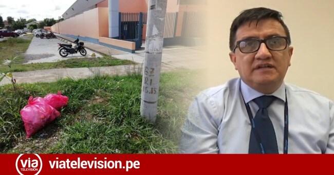 Director de EsSalud denuncia arrojo de desechos frente al hospital