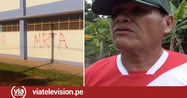 """Ex camarada """"Damián"""" desmiente que  pintas en Sauce fueron hechas por MRTA"""