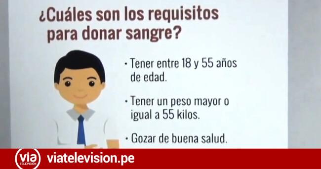 EsSalud programa campaña  de donación voluntaria de sangre