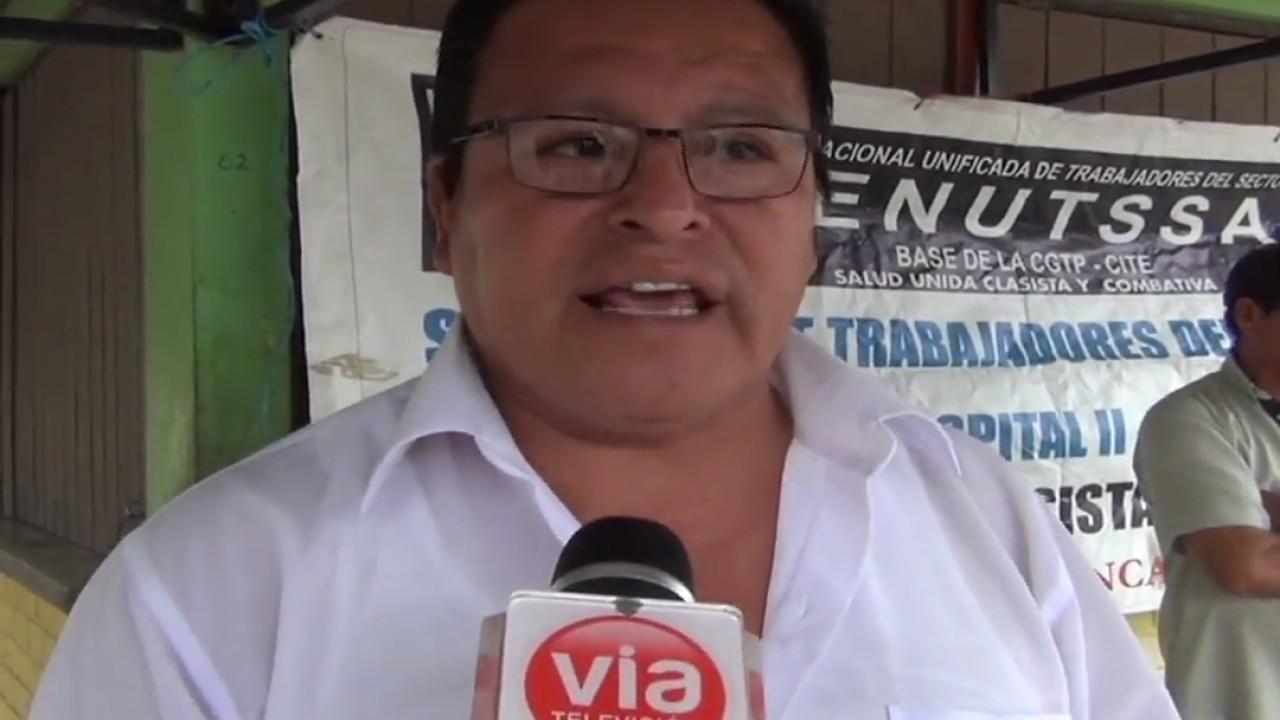 FENUTSSA denuncia a directivos del hospital  de Tarapoto por presuntos actos irregulares