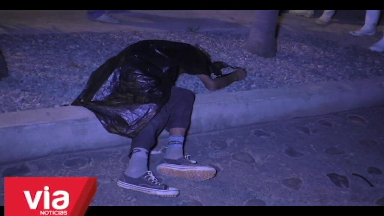 Hombre que fue encontrado muerto en barrio Comercio continúa como NN