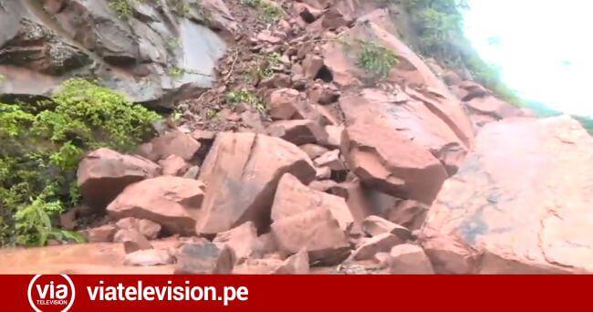 Por intensas lluvias declaran en emergencia 8 distritos de San Martín