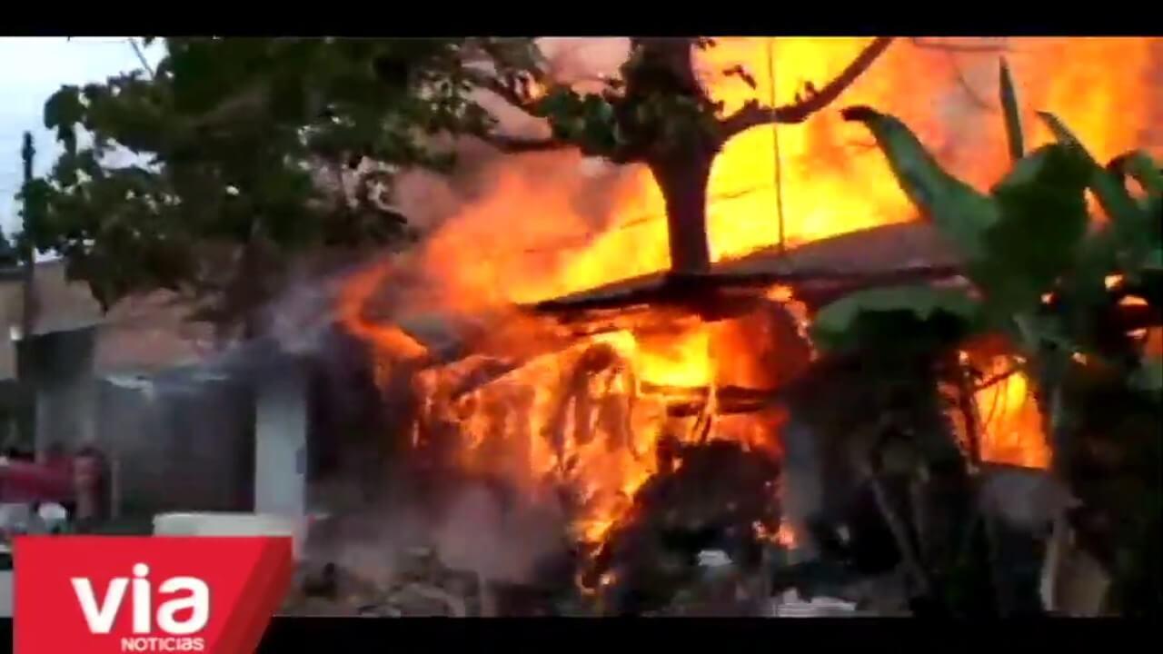 Dos viviendas quedan afectadas por un incendio ocasionado por cocina artesanal