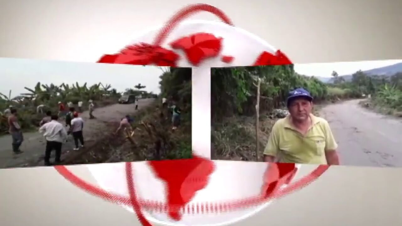 Realizan jornada de mantenimiento de la carretera Cuñumbuque – Sisa