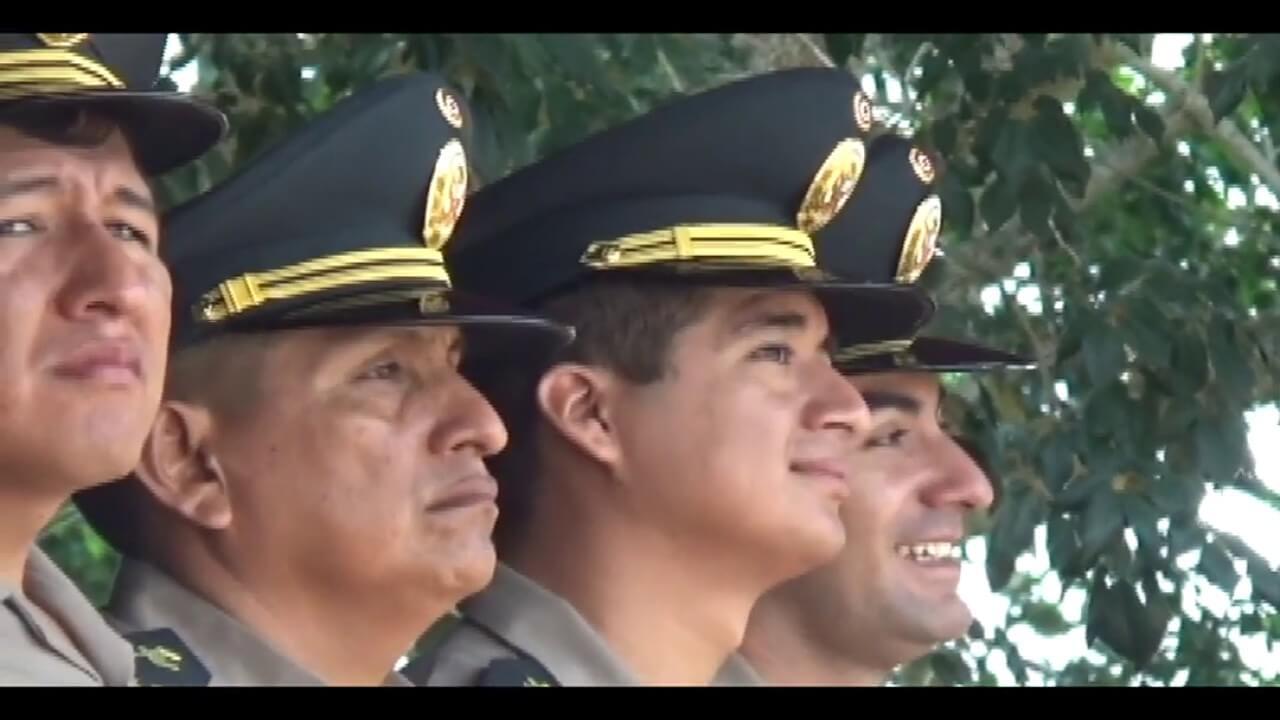 Reconocen a 64 policías por destacada labor durante el presente año