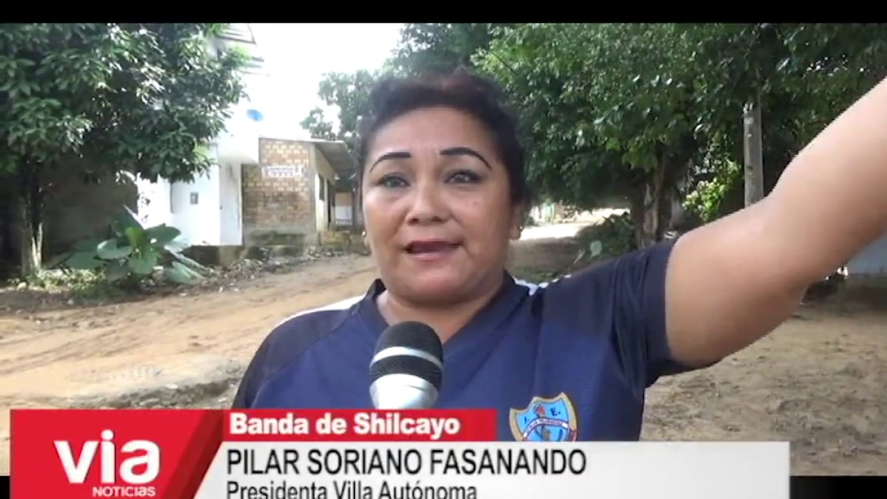 Solicitan alumbrado público en vía de ingreso a Villa Autónoma