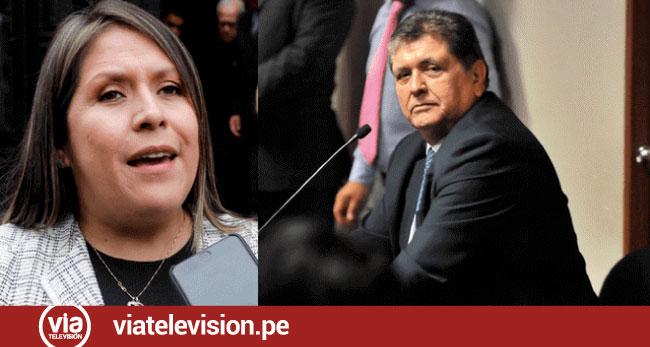 Yeni Vilcatoma: El Estado tendrá que pagar una indemnización a Alan García