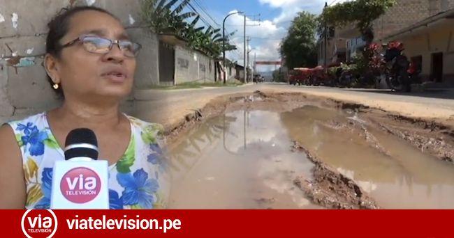 Solicitan mejoramiento de vía en la cuadra dos del Jr. Alfonso Ugarte