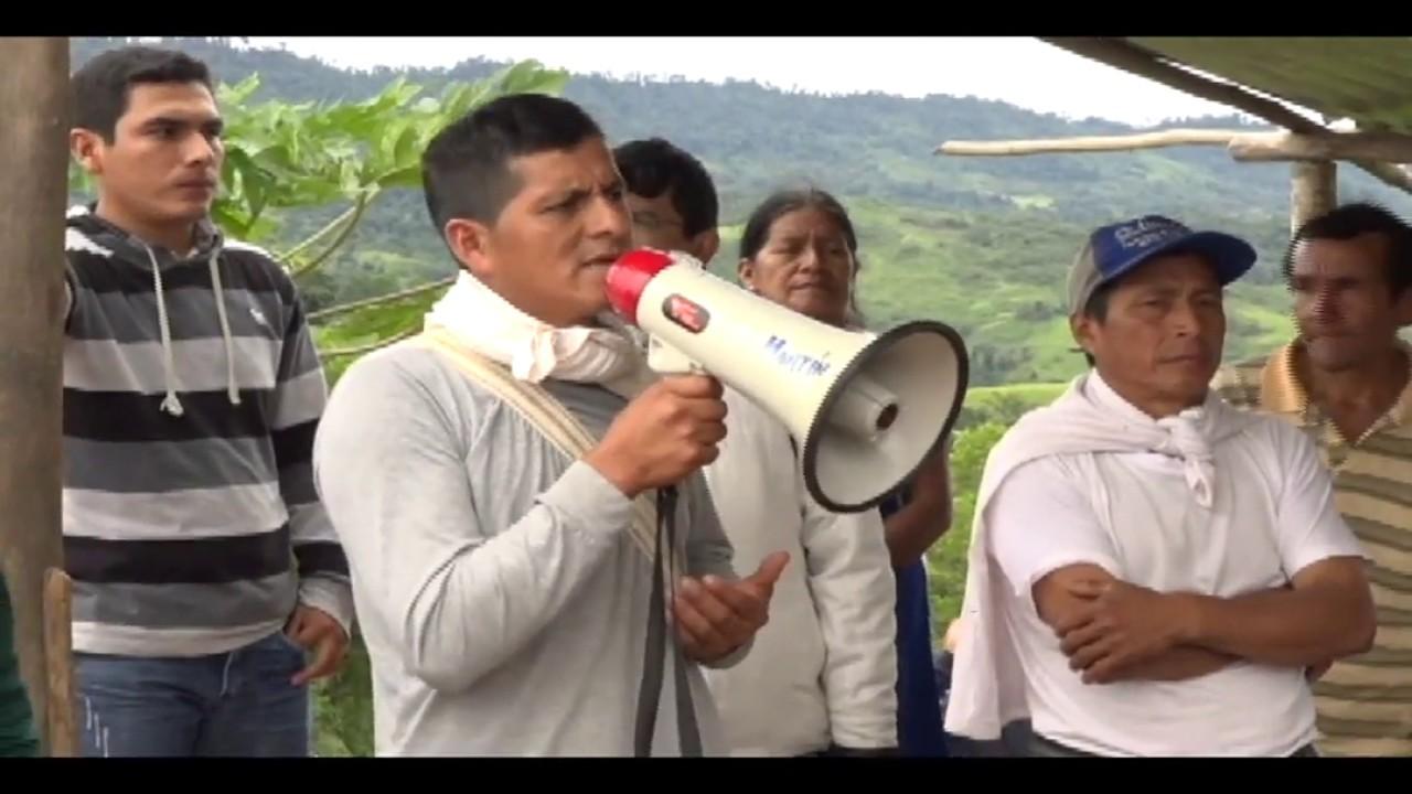 Bloquean carretera Cuñumbuque – San José de Sisa, exigen contratar profesores