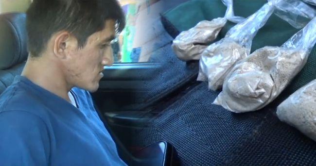 Efectivos policiales intervienen a  presunto micro comercializador de droga
