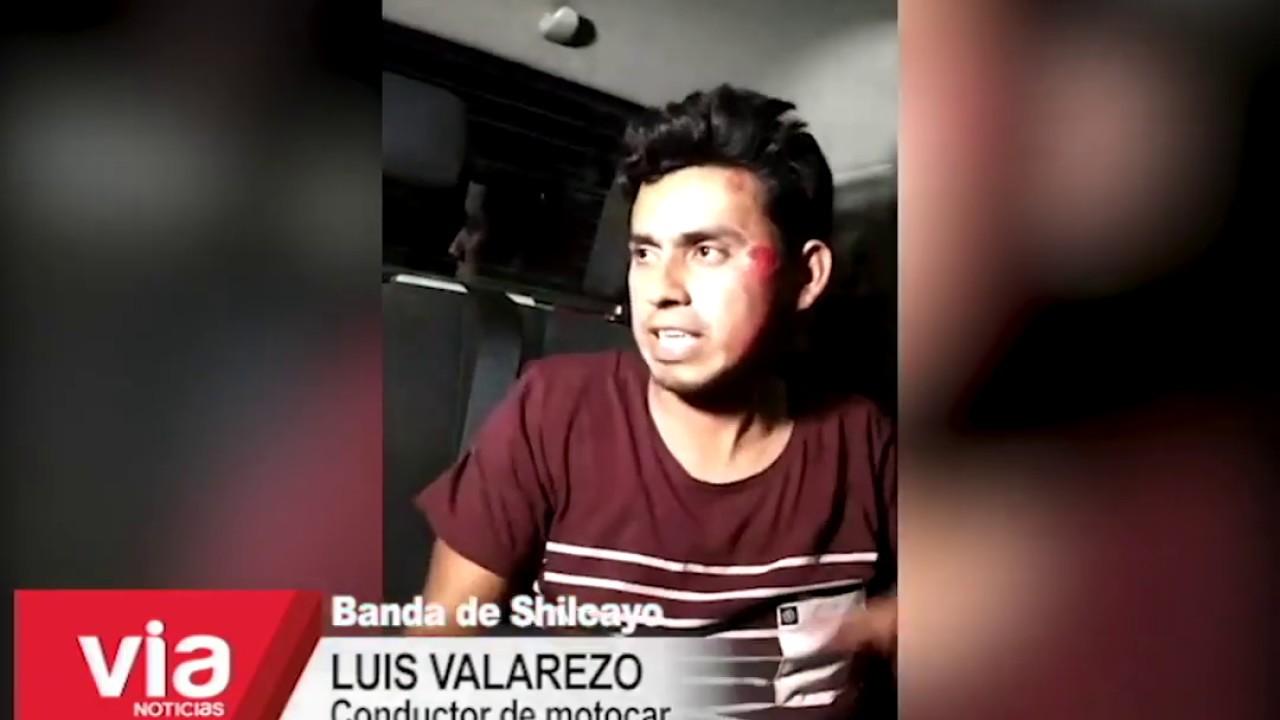 Un herido en accidente de tránsito en el centro poblado Las Palmas