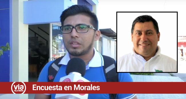 Morales: opinión de vecinos sobre los 100 primeros días de gestión de su alcalde
