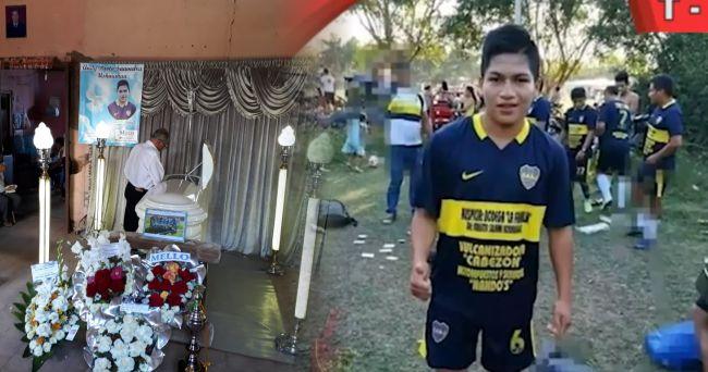 Llegan restos mortales de joven futbolista que murió en Arequipa durante accidente