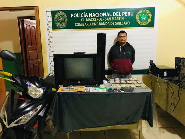 Policía interviene a presunto micro comercializador de estupefacientes